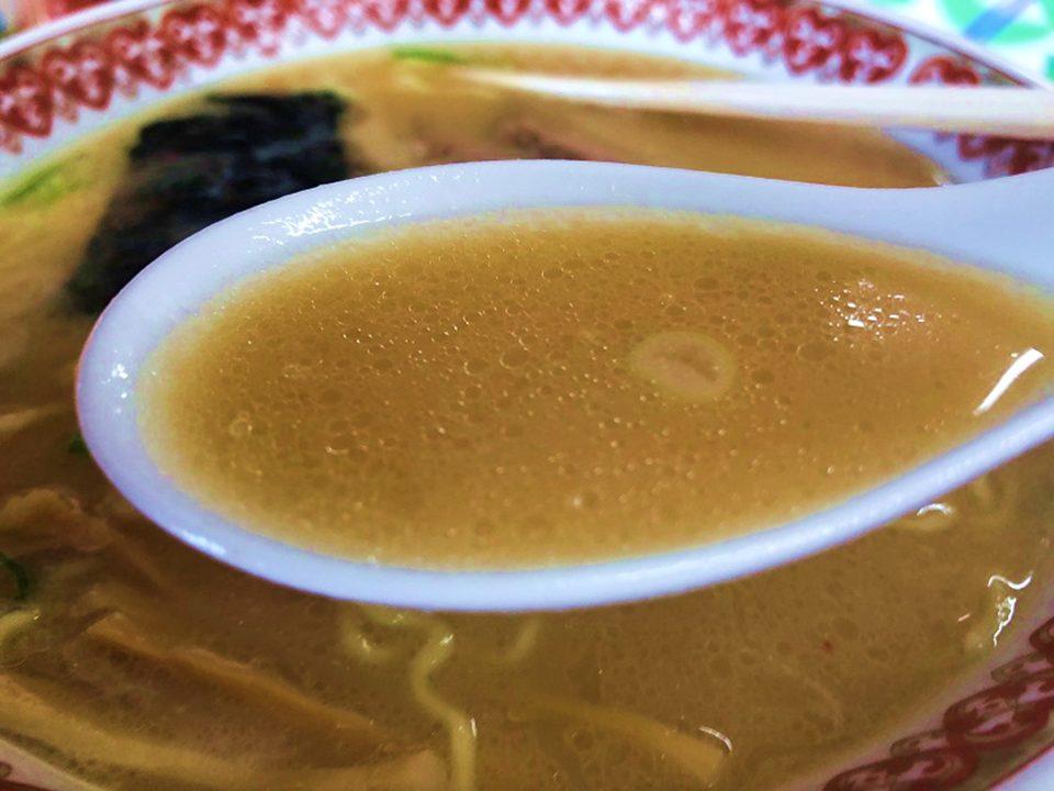 スープのアップの写真